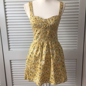 Free People Floral Dress with Pockets
